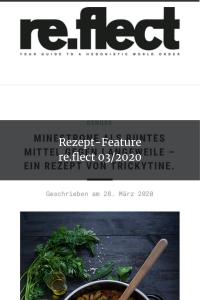 Rezept-Feature re.flect 03_2020