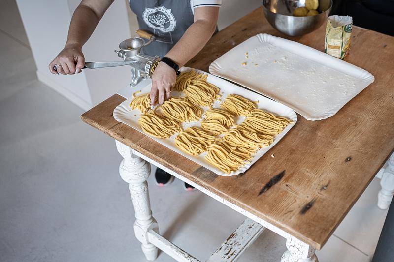 Marken Passatelli Pasta Italien trickytine