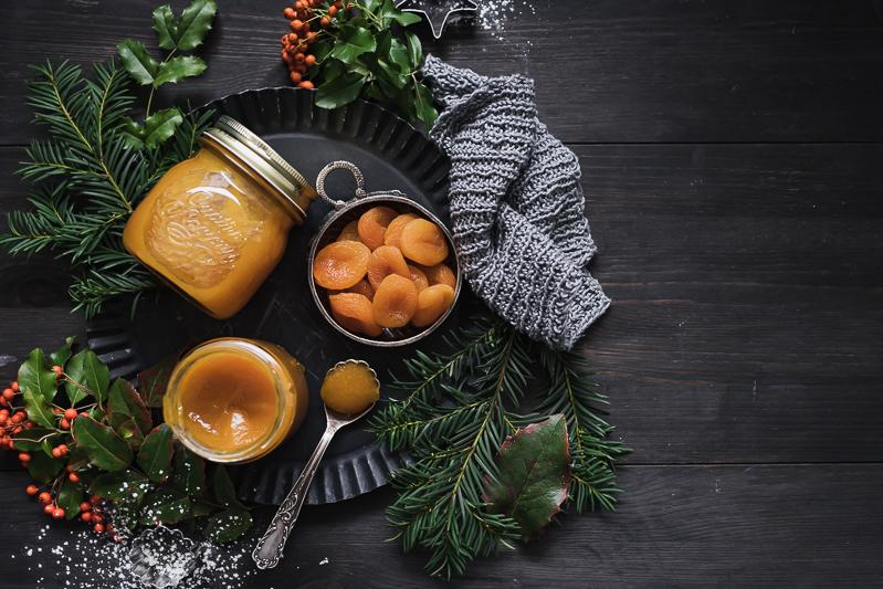 Mandelplätzchen Aprikosenmarmelade trickytine Rezept