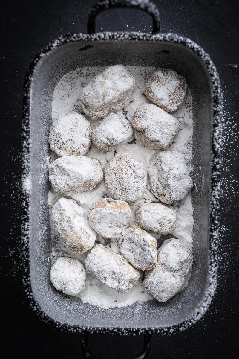 Stollenkonfekt Pistazien Cranberries Quark Rezept trickytine