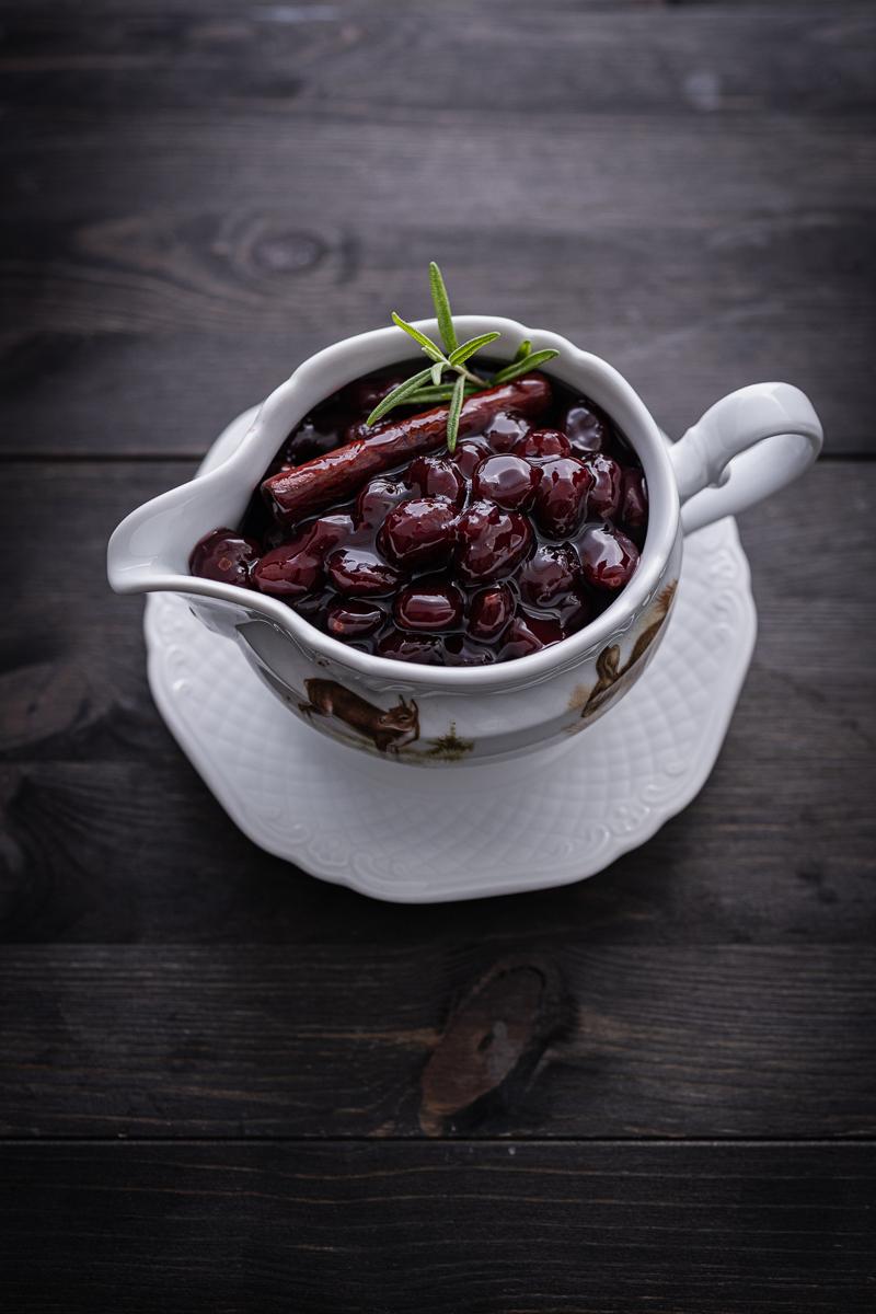 Cranberry Soße Wildscheingulasch trickytine