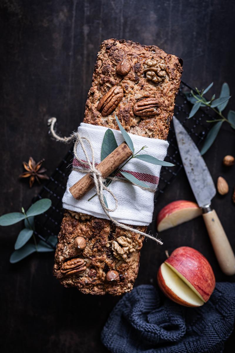Apfelbrot Rezept ohne Zucker trickytine