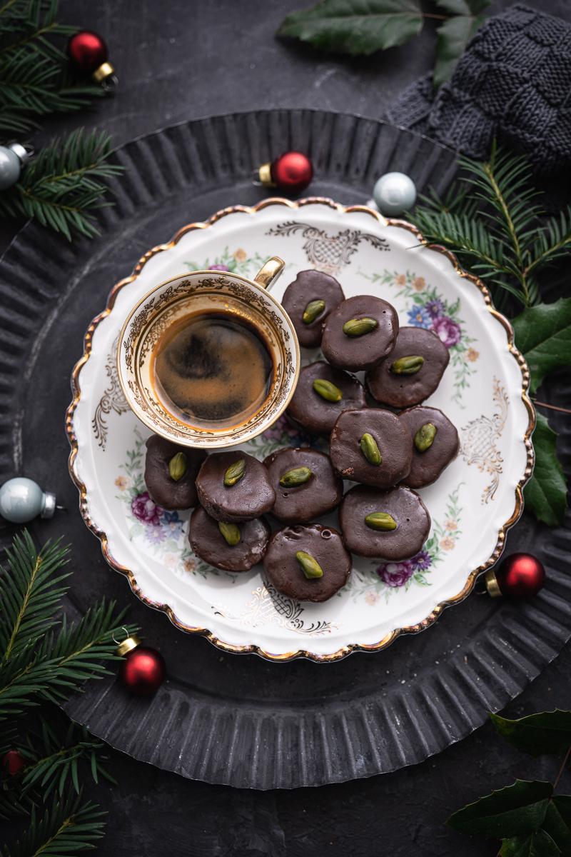 Kardamom-Kekse Kakao Kaffee trickytine Rezept