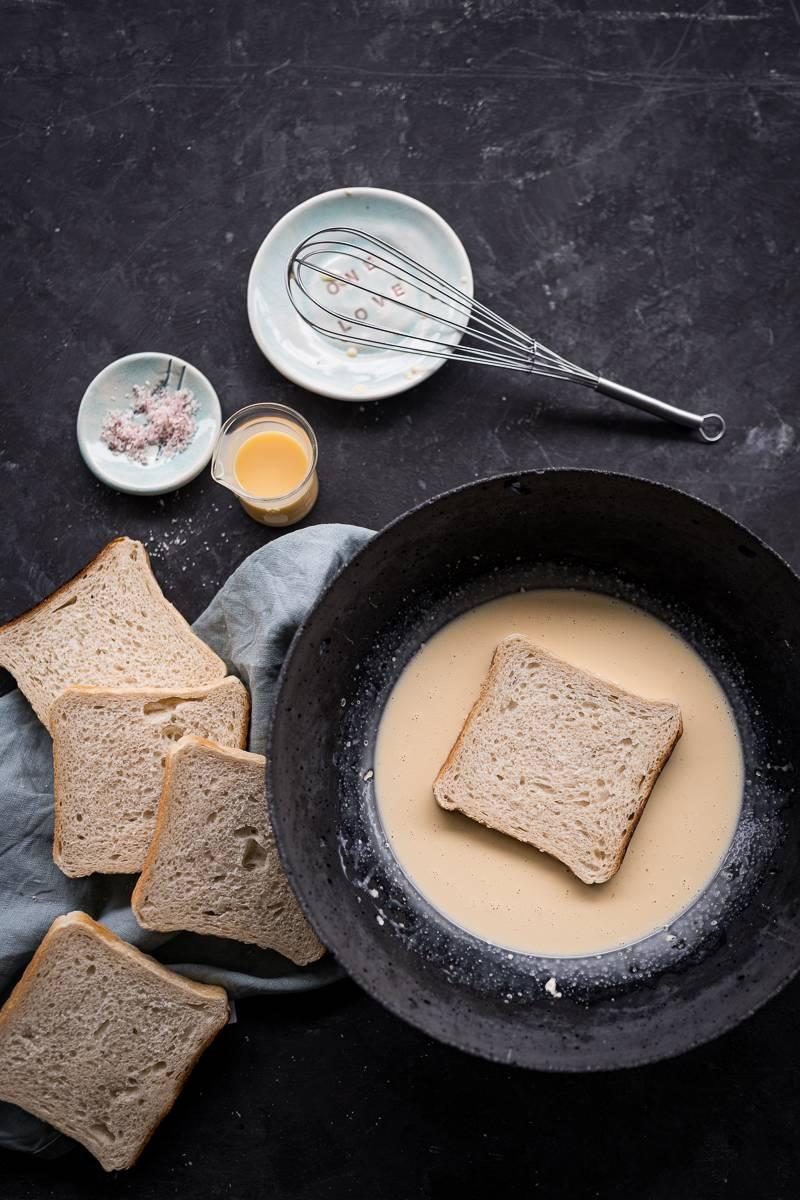 Oster-Rezepte, leckerer Eierlikör French-Toast