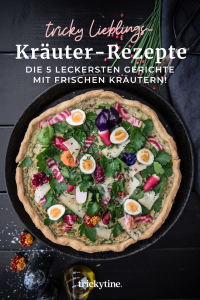 5 Kräuter-Rezepte Foodblog trickytine