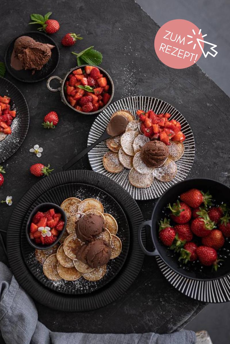 5 Sommer-Dessert Rezepte, Poffertjes