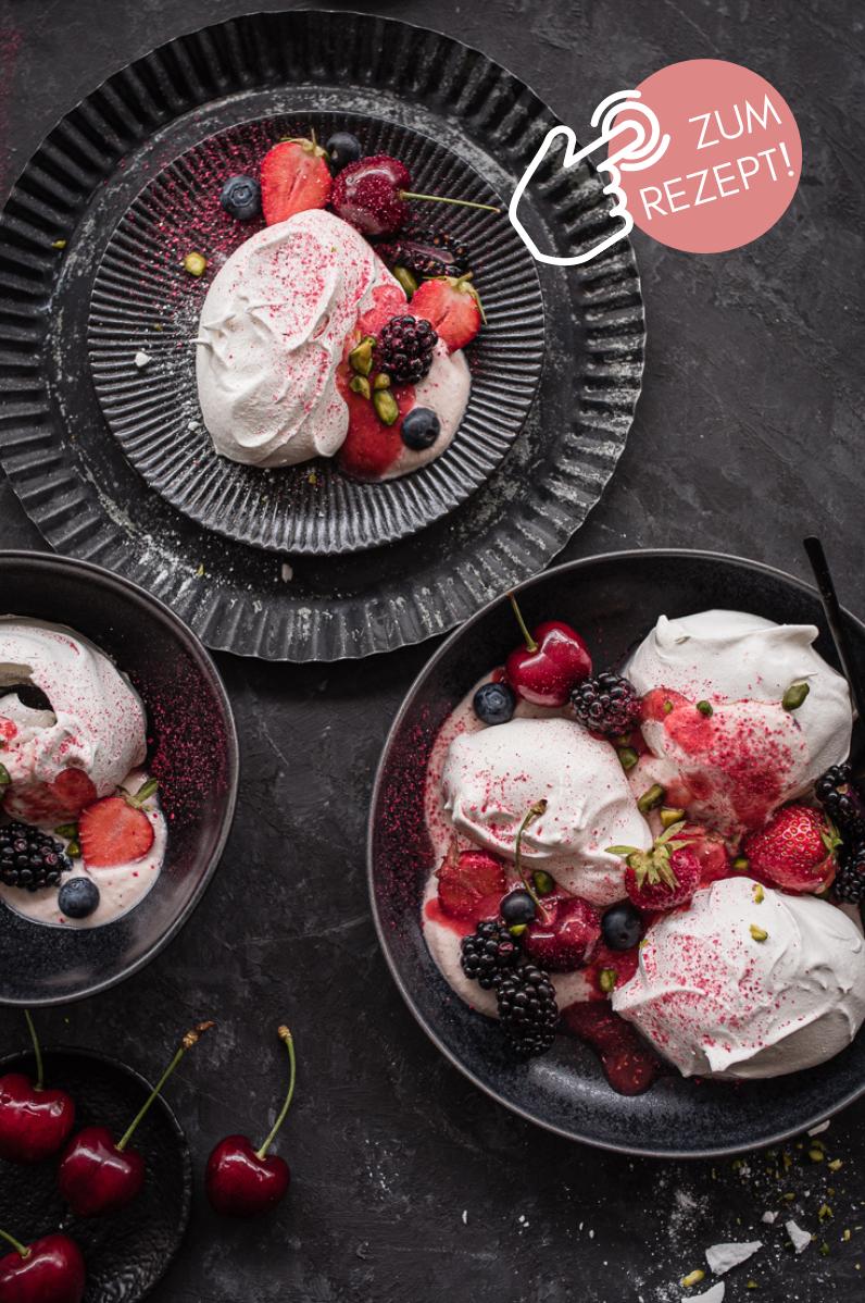 5 Sommer-Dessert, Eton Mess Dessert