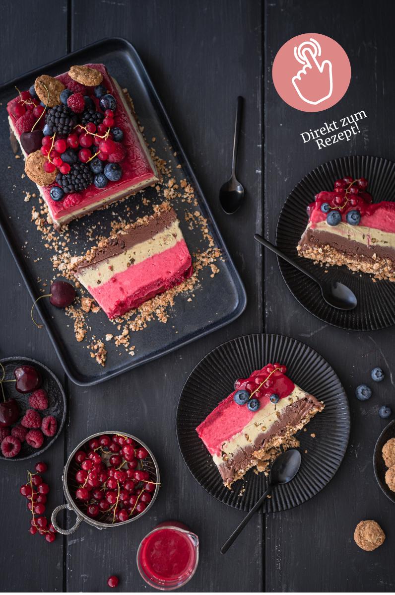 5 Sommer-Dessert, Ombre Eistorte