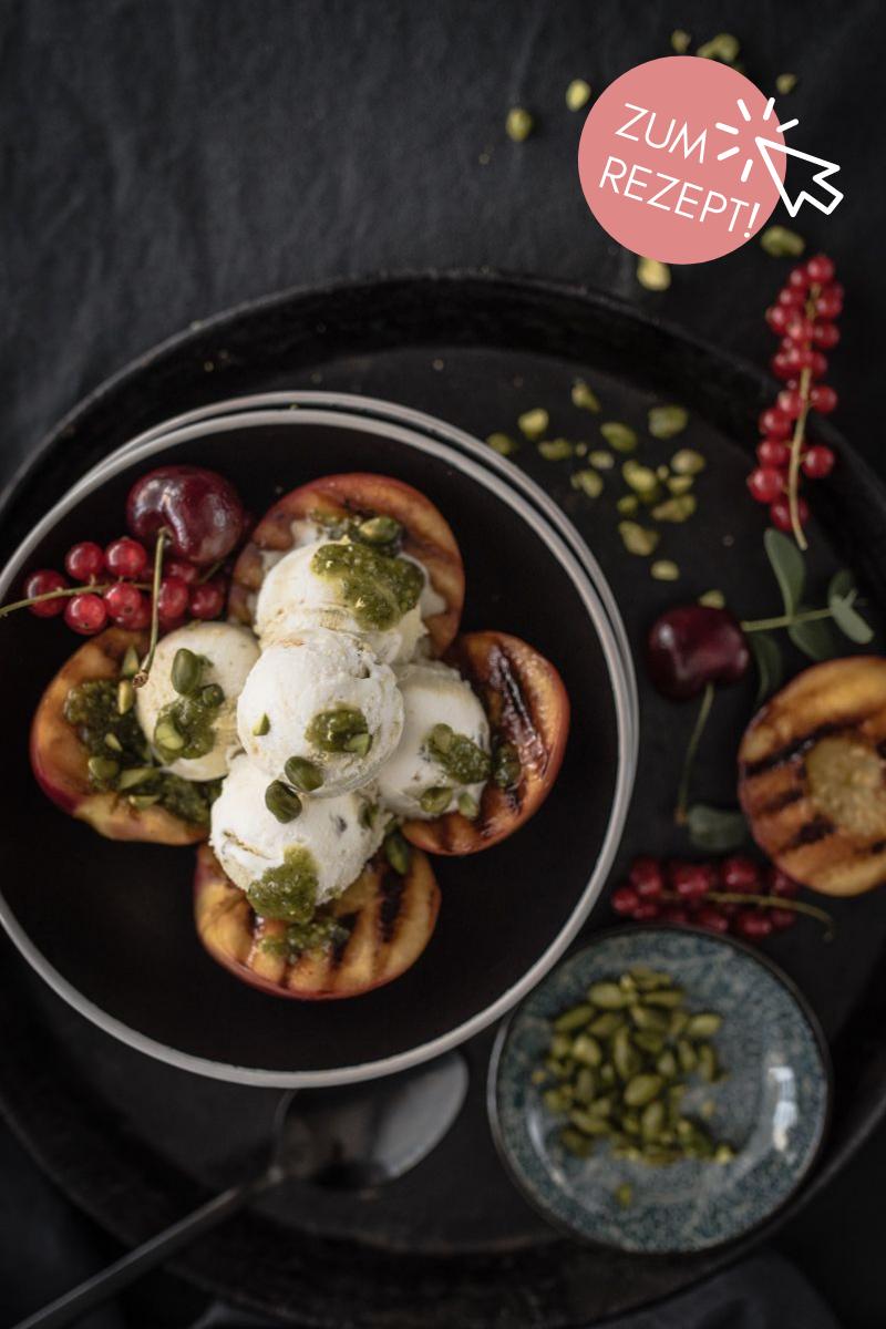 5 Sommer-Dessert, Gegrillte Nektarinen