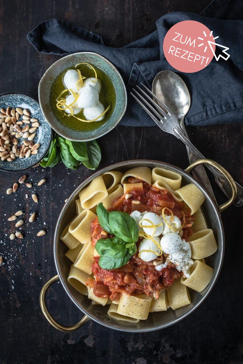 5 Wochenplan Rezepte, Pasta all amatriciana