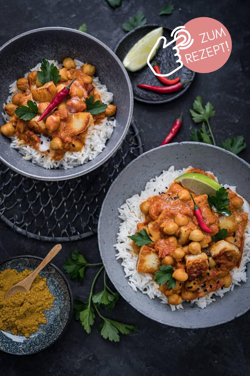 5 Wochenplan Rezepte, Kichererbsen Curry