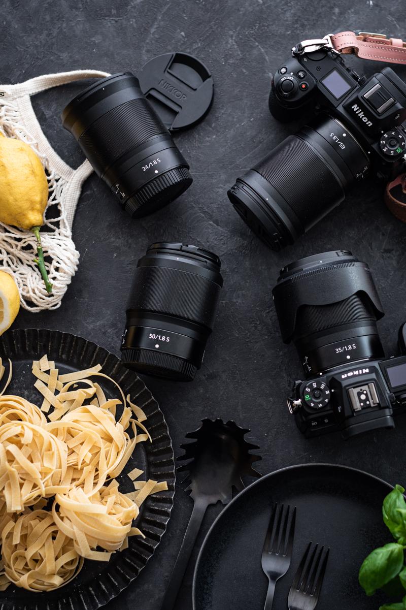 Pasta al limone Nikon trickytine Studio Urbina
