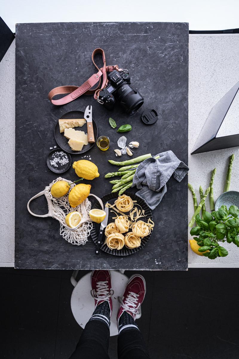 Pasta al limone trickytine Studio Nikon