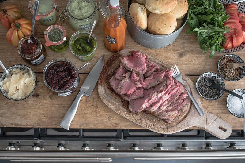 5 Grillparty-Rezepte, Ribeye Steak Sandwich
