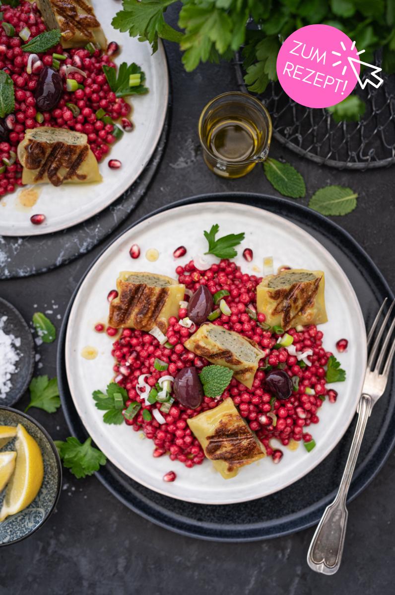 5 leichte Sommergerichte, Pink Perl Couscous