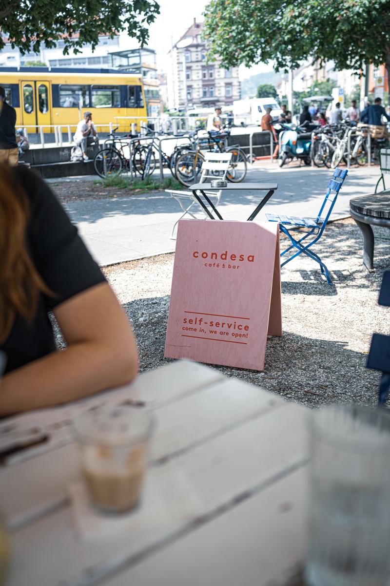 trickytine 7 Cafés in Stuttgart Condesa Marienplatz