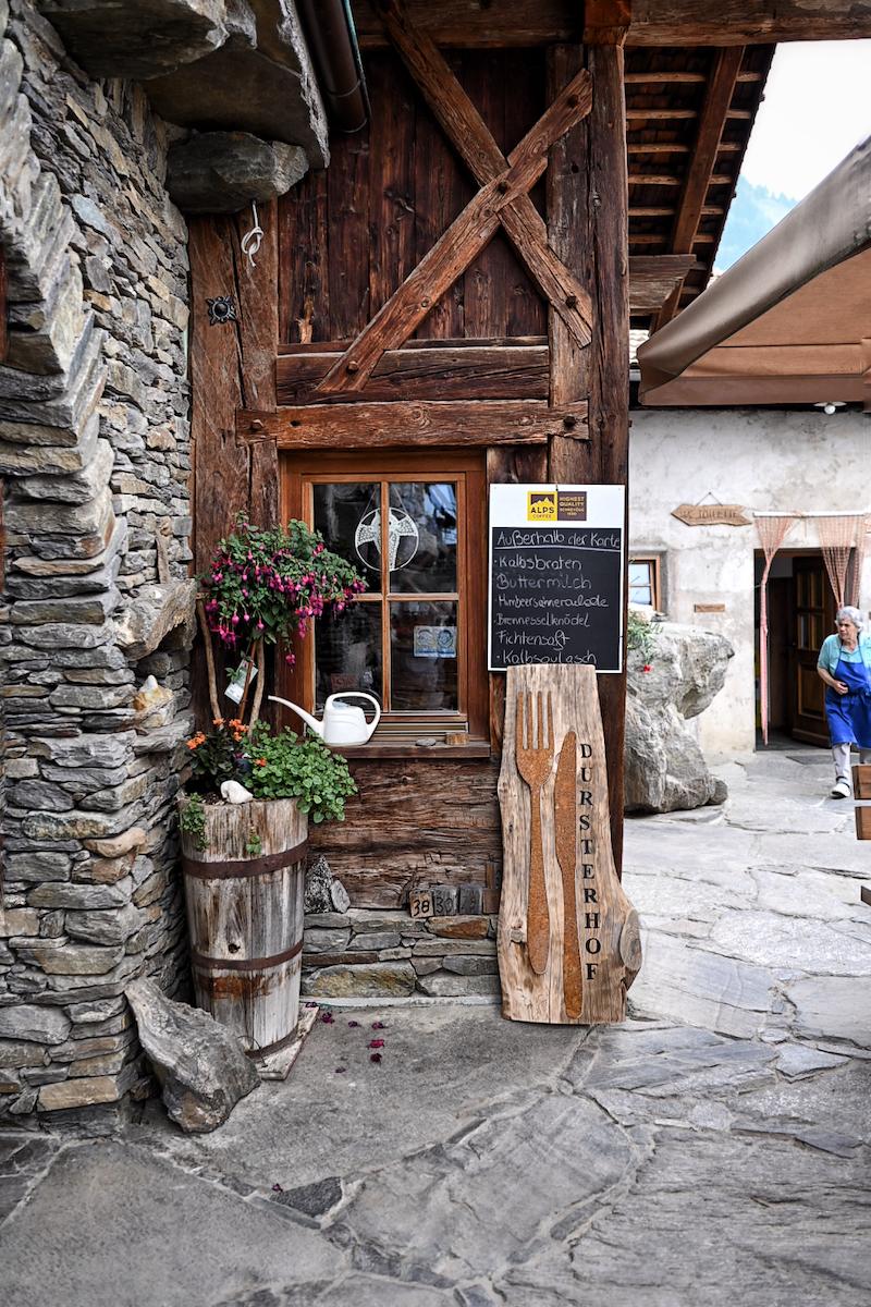 Genussreise in Südtirol Dursterhof Partschins trickytine
