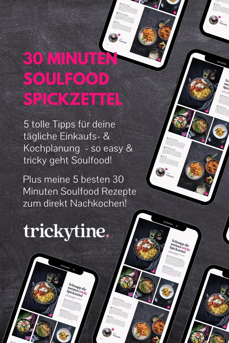 30 Minuten Soulfood Spickzettel