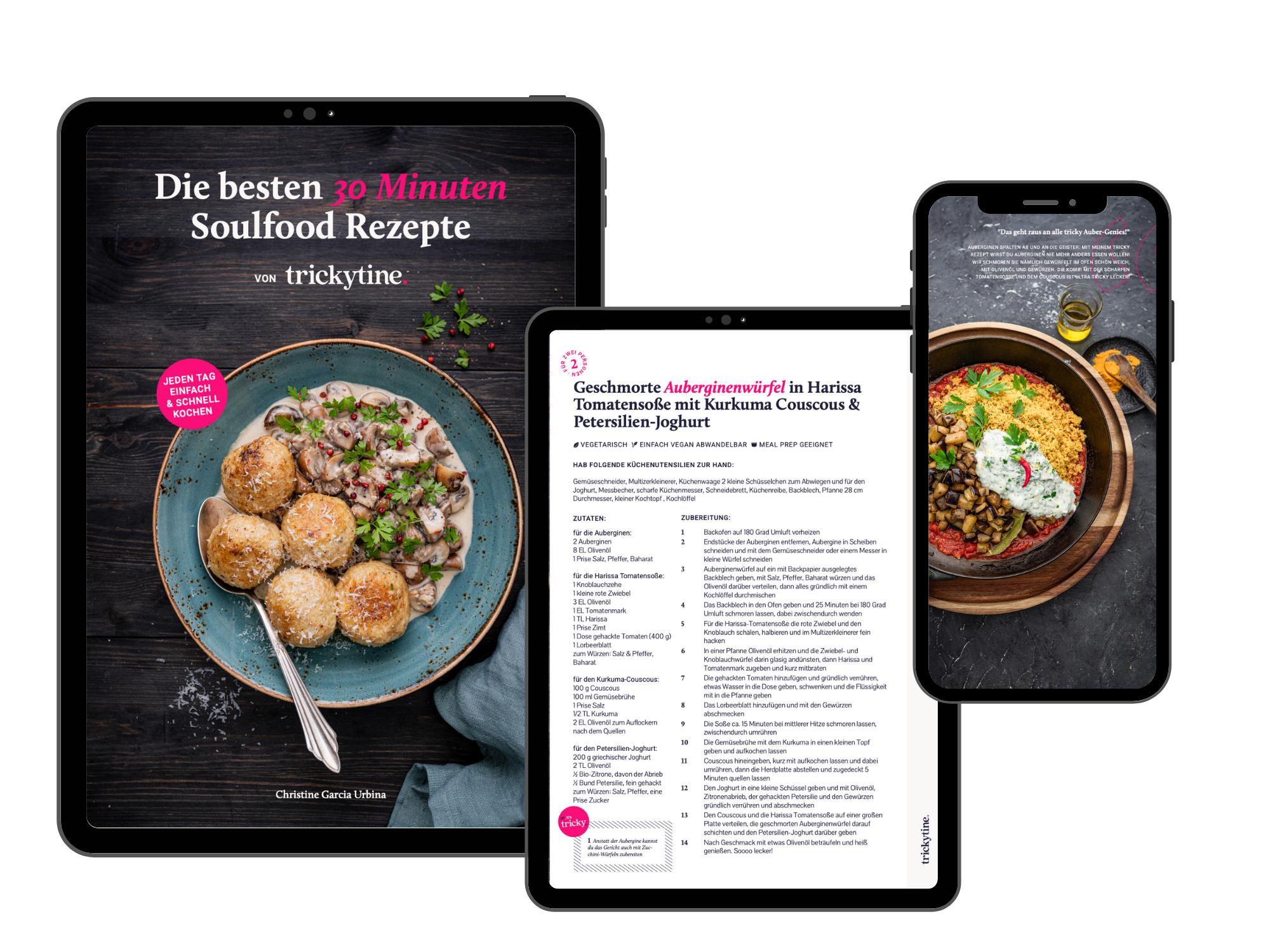 eBook die besten 30 Minuten Soulfood Rezepte von trickytine